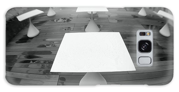 White Tables Galaxy Case