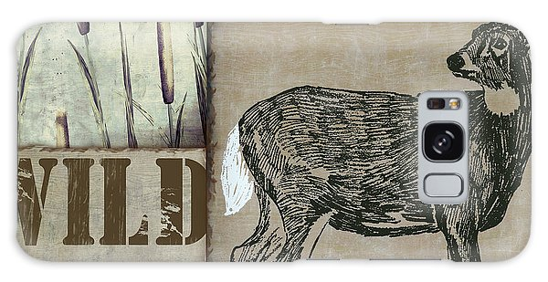 White-tailed Deer Galaxy Case - White Tail Deer Wild Game Rustic Cabin by Mindy Sommers