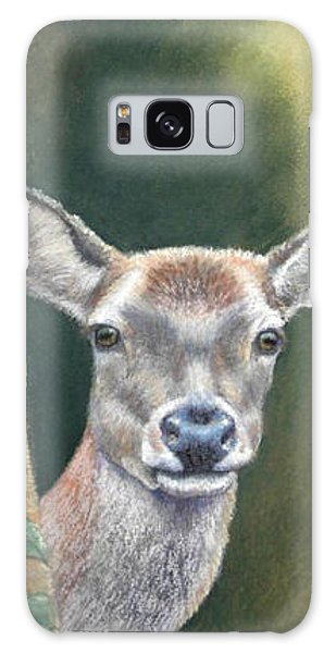 White Tail Doe At Ancon Hill Galaxy Case by Ceci Watson