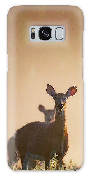 White-tailed Deer Galaxy Case - White-tailed Deer 2016 by Bill Wakeley