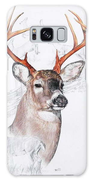 White-tailed Deer Galaxy Case by Barbara Keith