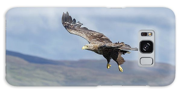 White-tailed Eagle On Mull Galaxy Case