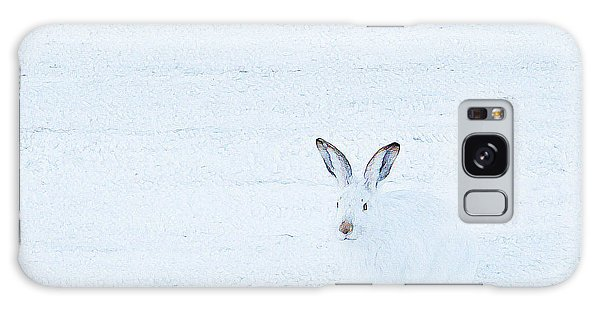 White-tailed Jack Rabbit  Galaxy Case