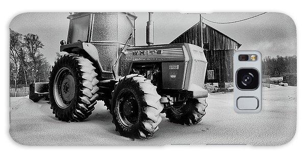 White Tractor Galaxy Case
