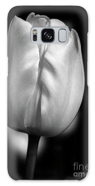 Galaxy Case featuring the photograph White Tulip by Chris Scroggins