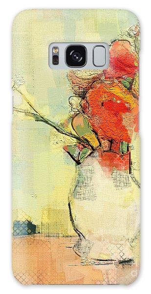 White Vase Galaxy Case by Carrie Joy Byrnes