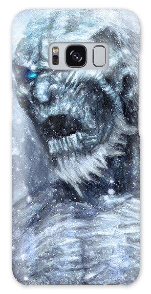 White Walker Galaxy Case by Taylan Apukovska