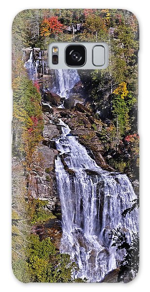 White Water Falls Galaxy Case by John Gilbert