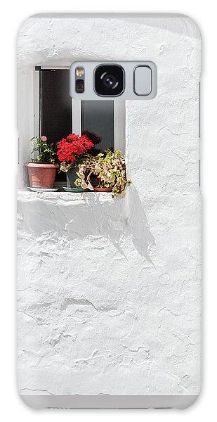 White Window Galaxy Case