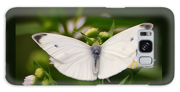 White Wings Of Wonder Galaxy Case