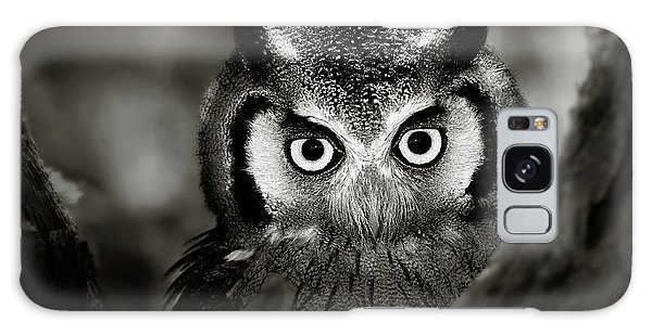 Hiding Galaxy Case - Whitefaced Owl by Johan Swanepoel