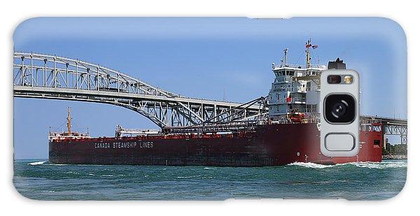 Whitefish Bay And Blue Water Bridge 2 Galaxy Case