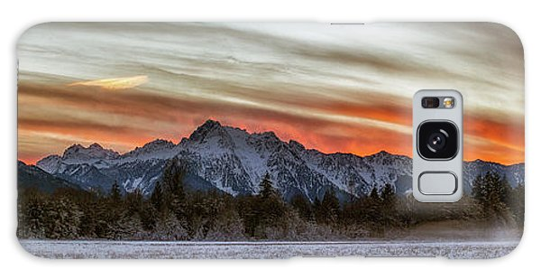 Whitehorse Sunset Panorama Galaxy Case