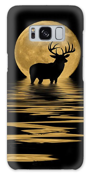 Whitetail Deer In The Moonlight Galaxy Case