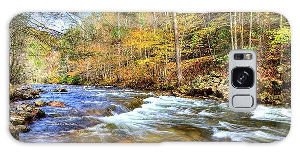 Whitetop River Fall Galaxy Case