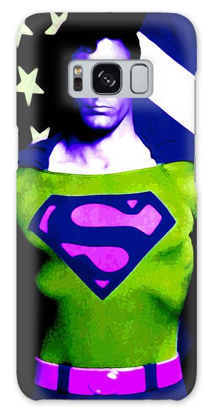 Who Is Superman Galaxy Case by Saad Hasnain