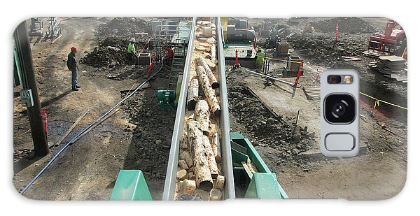 Whole Log Galaxy Case