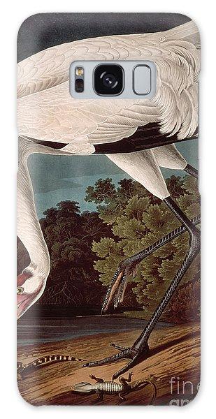 Crane Galaxy S8 Case - Whooping Crane by John James Audubon