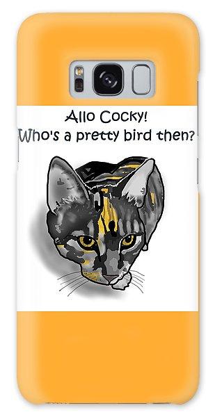 Galaxy Case - Who's A Pretty Bird Then? by Joan Stratton