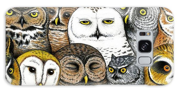Owl Galaxy Case - Who's Hoo by Don McMahon