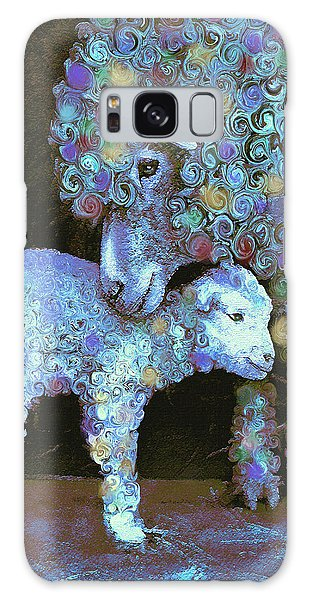 Whose Little Lamb Are You? Galaxy Case