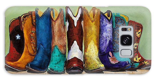 Why Real Men Want To Be Cowboys Galaxy Case by Frances Marino