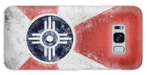 Wichita City Flag Galaxy Case
