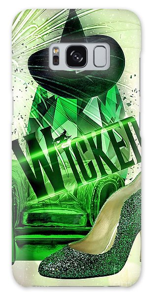 Wicked Galaxy Case by Mo T