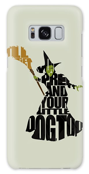 Movie Galaxy Case - Wicked Witch Of The West by Inspirowl Design