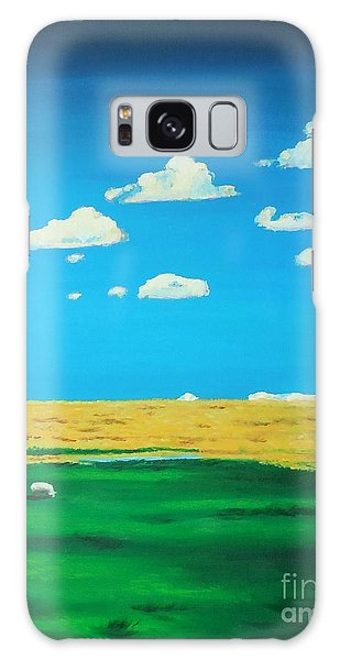 Wide Open Spaces And A Big Blue Sky Galaxy Case