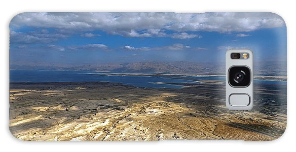 Wide View From Masada Galaxy Case