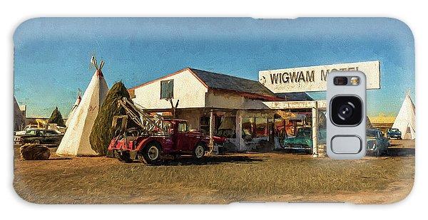 Wigwam Motel Galaxy Case