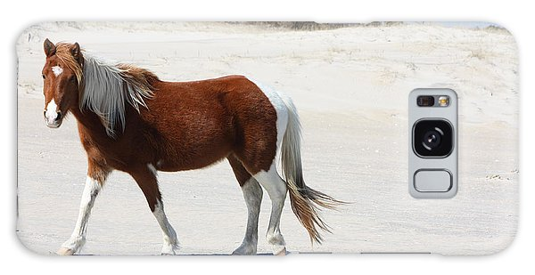 Wild Assateague Ponies 2 Galaxy Case