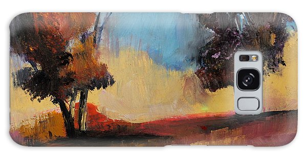 Wild Beautiful Places Trees Landscape Galaxy Case