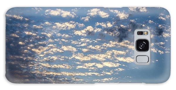 Wild Blue Sunset Galaxy Case