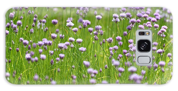 Wild Chives Galaxy Case by Chevy Fleet