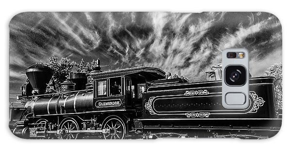 Sly Galaxy Case - Wild Clouds Over Old Train by Garry Gay