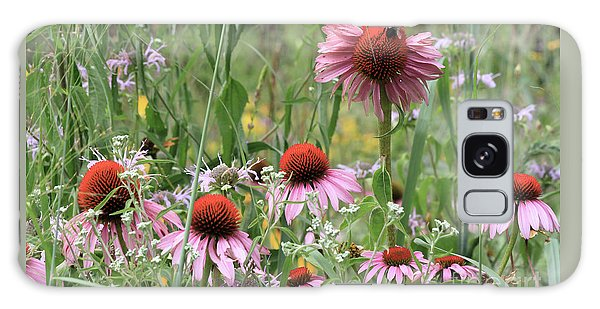 Wild Coneflowers Galaxy Case