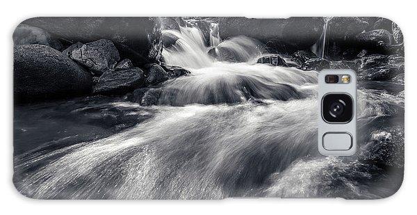 wild creek in Harz, Germany Galaxy Case