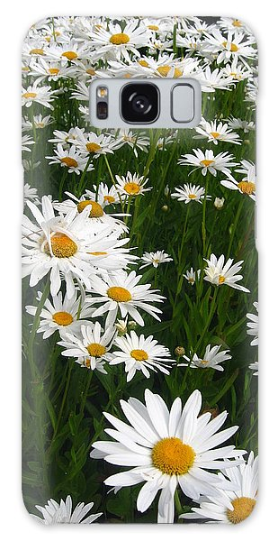 Wild Daisies Galaxy Case
