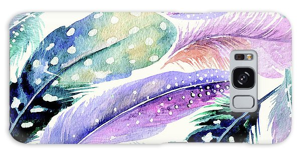 Wild Feathers Galaxy Case