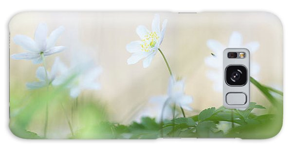 wild flower carpet - Anemone nemerosa Galaxy Case