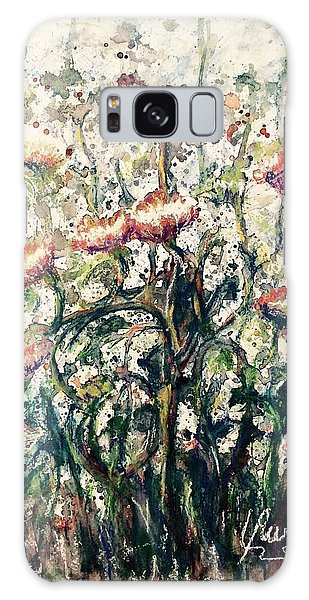 Wild Flowers # 2 Galaxy Case