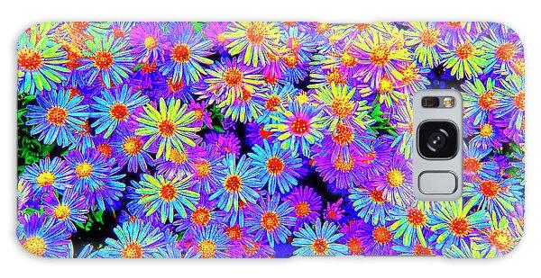 Wild Flowers 3 Galaxy Case