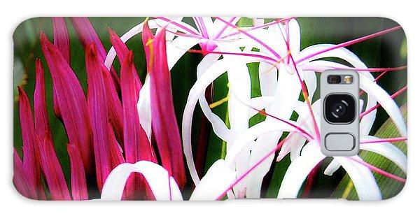 Wild Flowers In Hawaii Galaxy Case