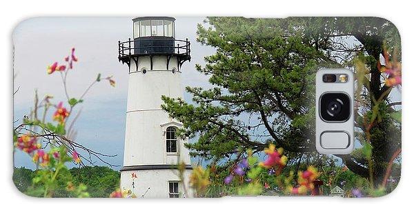 Wild Flowers On Rock Island Galaxy Case