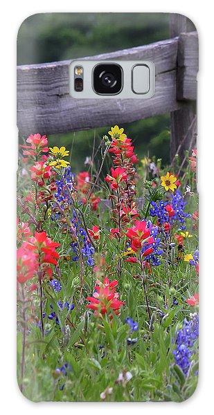 Wild Flowers Galaxy Case