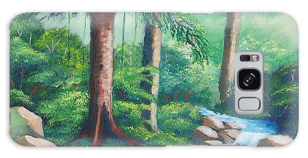 Wild Forest River Galaxy Case