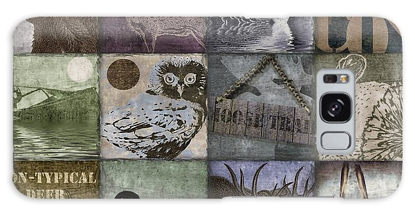 Rustic Galaxy Case - Wild Game Patchwork II by Mindy Sommers