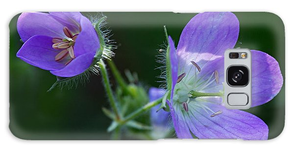 Wild Geraniums Galaxy Case